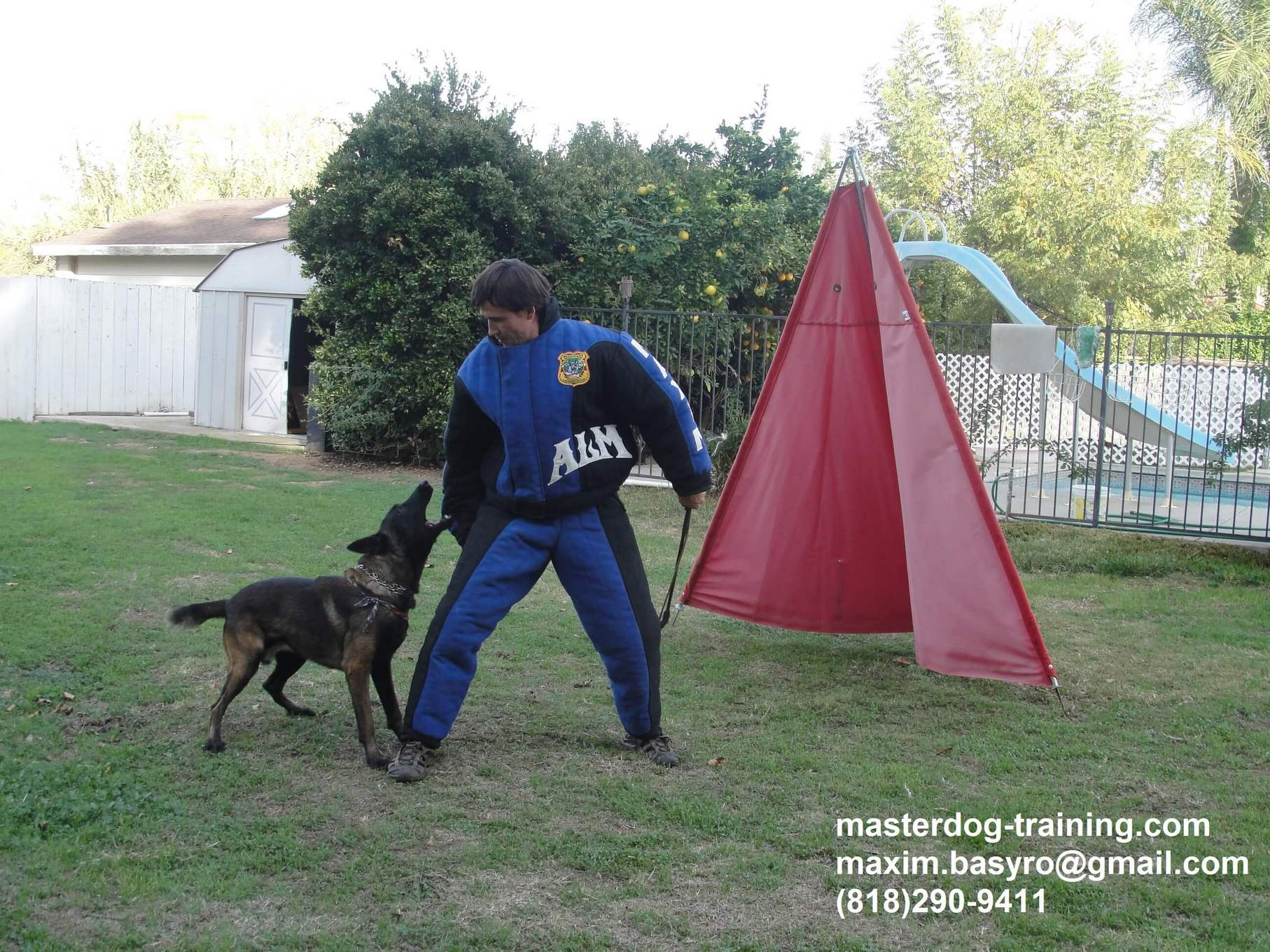 Military, Police & Security Dog Trainer