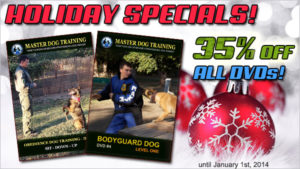Dog Training DVD Sale